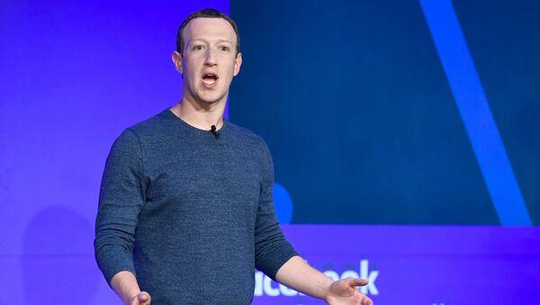 Руководитель компании Facebook Inc. Марк Цукерберг  - Sputnik Абхазия
