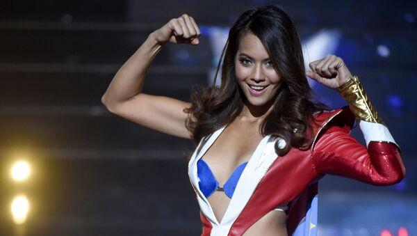 Мисс Таити Ваймалама Чавес на окнкурсе красоты Мисс Франция 2019 в Лилле - Sputnik Абхазия