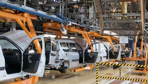 Презентация новой Lada Granta  на заводе «АвтоВАЗ» в Тольятти - Sputnik Абхазия