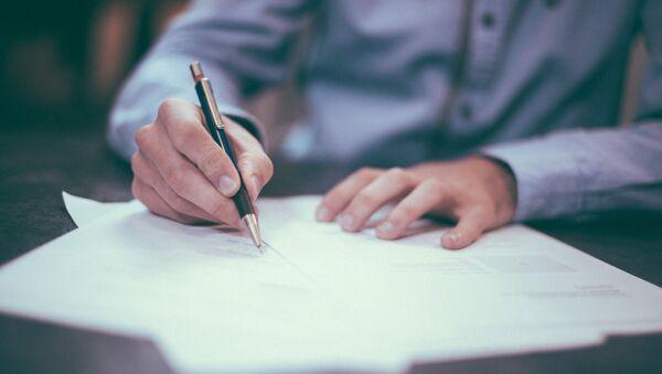Подписание договора - Sputnik Абхазия