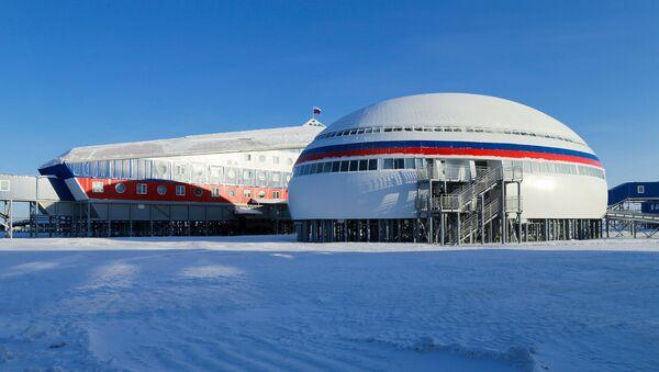 Российская военная база Арктический трилистник на острове Земля Александры архипелага Земля Франца-Иосифа - Sputnik Абхазия