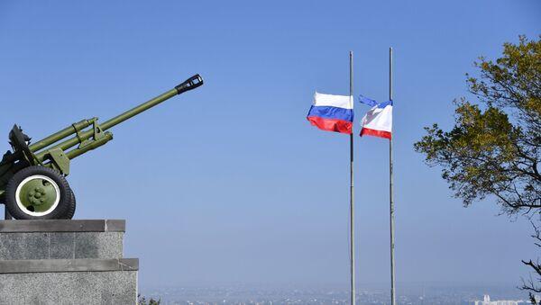 В Крыму объявили трехдневный траур в связи с трагедией в Керчи - Sputnik Абхазия