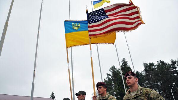 Американские военные инструкторы прибыли на Украину - Sputnik Аҧсны