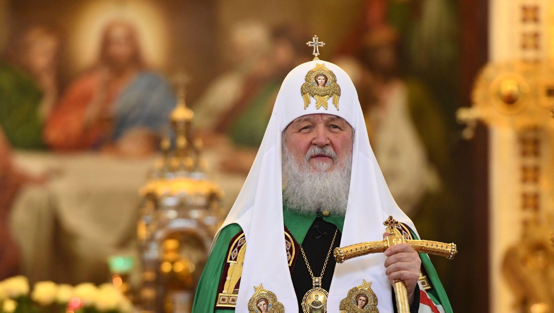 Патриарх Кирилл совершил божественную литургию с сестрами Милосердия - Sputnik Аҧсны, 1920, 02.05.2021