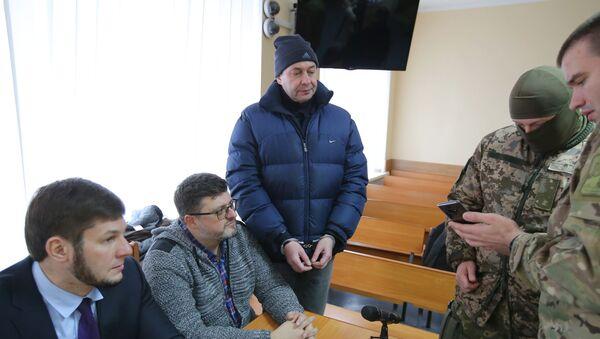 Заседание суда по делу журналиста К. Вышинского в Херсоне - Sputnik Абхазия