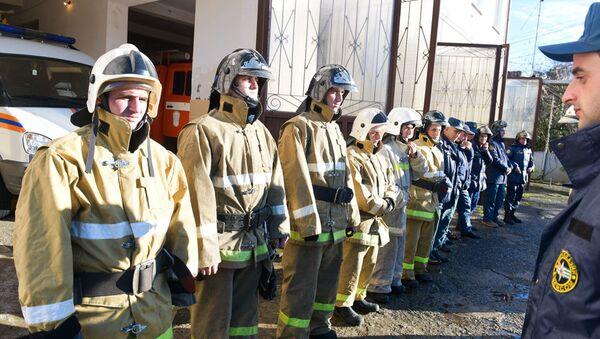 Работа пожарной службы - Sputnik Абхазия