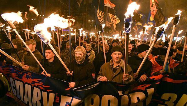 Участники марша - Sputnik Абхазия
