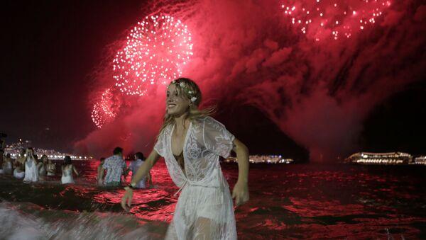 Празднование Нового года в Рио-де-Жанейро - Sputnik Абхазия