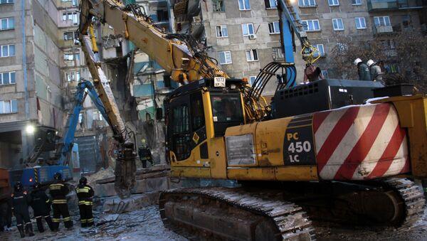 Ситуация в Магнитогорске в связи с обрушением подъезда жилого дома - Sputnik Абхазия