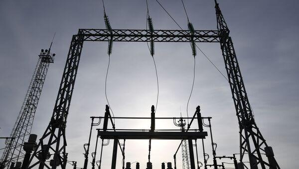 Электрическая подстанция - Sputnik Абхазия
