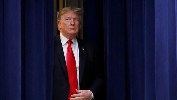 Президент США Дональд Трамп - Sputnik Абхазия