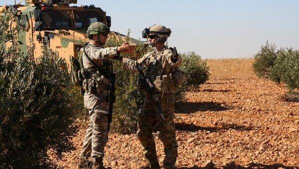 Американские военные в Сирии. 1 ноября 2018 - Sputnik Абхазия
