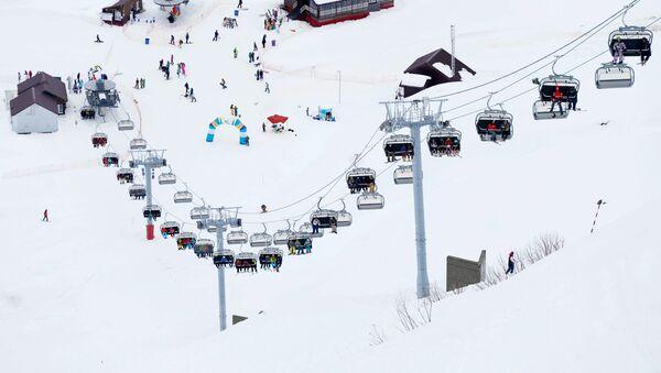 Открытие горнолыжного сезона в Красной поляне - Sputnik Абхазия