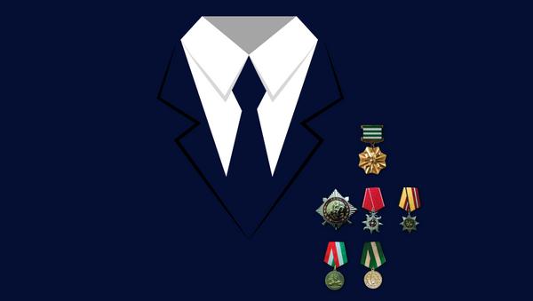 Как носить государственные награды Абхазии - Sputnik Абхазия