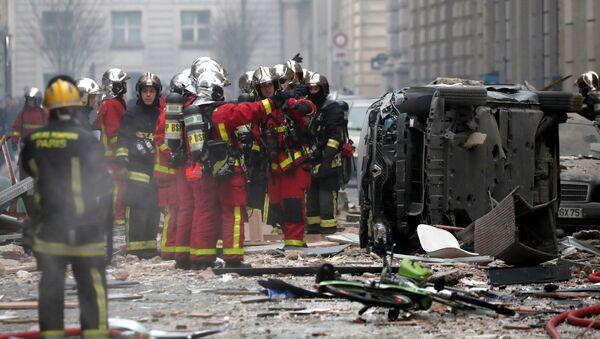 Взрыв в Париже. 12 января 2018 - Sputnik Абхазия