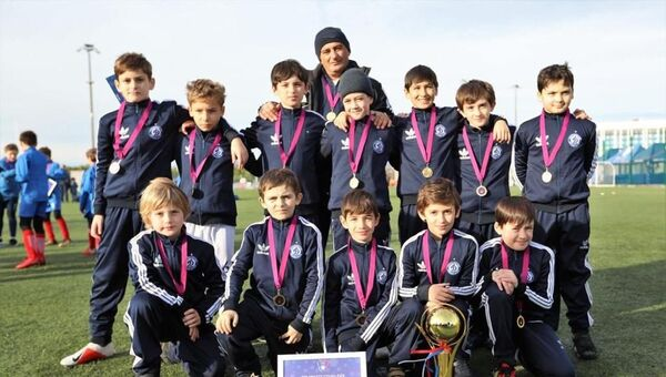 Спортсмены ФК Динамо 2009 года рождения - Sputnik Абхазия
