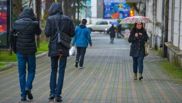 Прогноз погоды. Дождь - Sputnik Абхазия