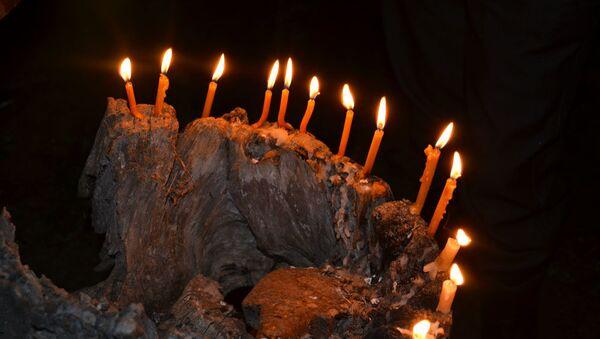 Празднование Ажьырныхуа в селе Бамбора  - Sputnik Аҧсны