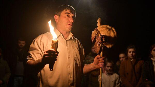Празднование Ажьырныхуа в селе Тхина - Sputnik Абхазия