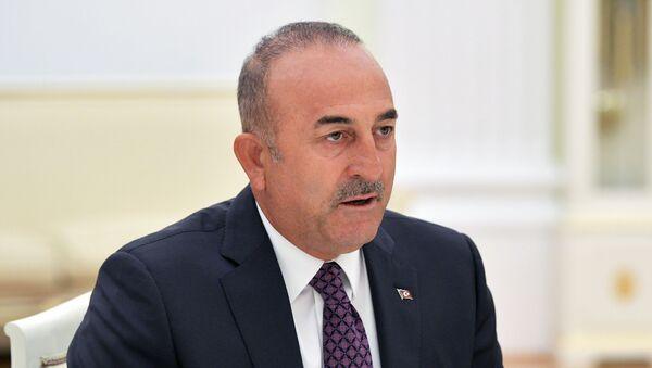 Президент РФ В. Путин встретился с главой МИД Турции М. Чавушоглу - Sputnik Абхазия