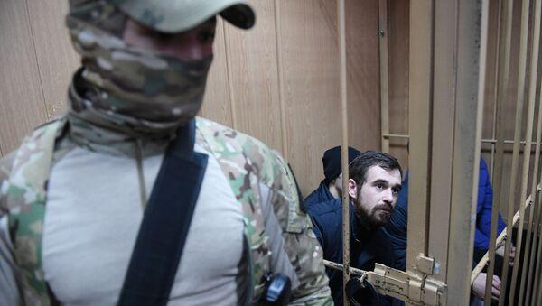 Рассмотрение ходатайства следствия о продлении срока ареста украинским морякам - Sputnik Абхазия