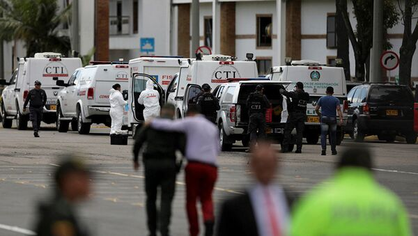 Взрыв в школе полиции в Боготе. Архивное фото - Sputnik Абхазия