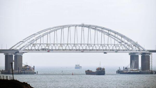 Судоходство в Керченском проливе  возобновлено - Sputnik Абхазия