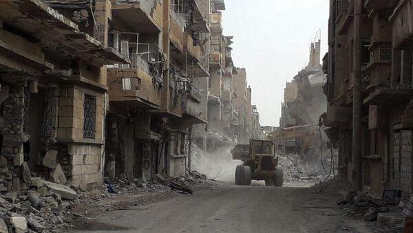 Разрушенные здания в Сирии - Sputnik Абхазия
