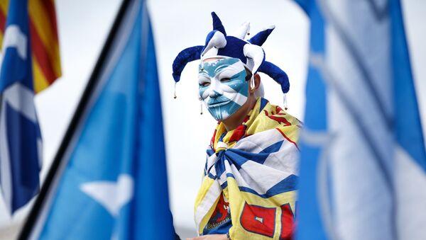 Марш за независимость Шотландии в Эдинбурге - Sputnik Абхазия