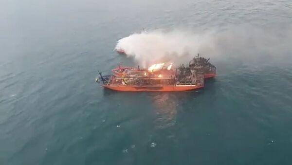 Поиск пропавших в Черном море моряков - Sputnik Абхазия