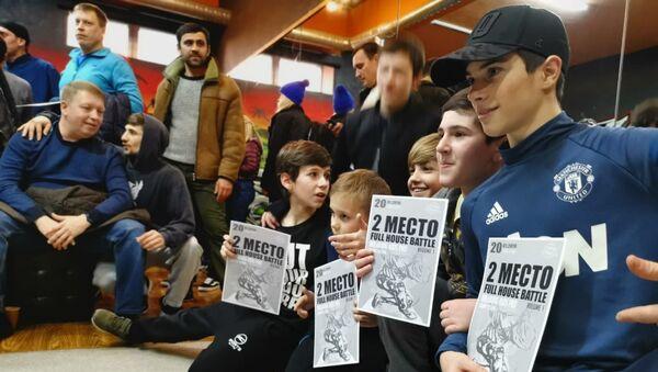 Брейкеры из Абхазии на чемпионате по брейк-дансу Full house battle в Сочи - Sputnik Аҧсны