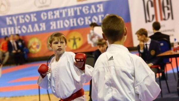 Фестиваль боевых искусств «Кубок Равноапостольного Николая Японского» - Sputnik Аҧсны