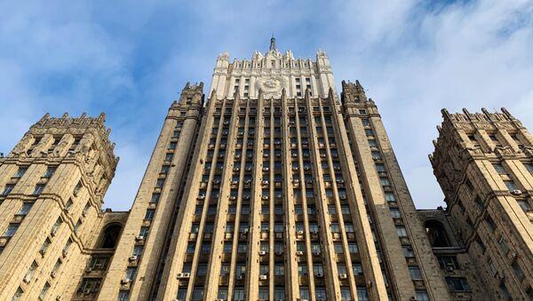 Здание министерства иностранных дел России - Sputnik Абхазия