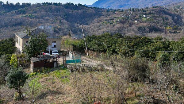 Село Верхняя Эшера в Сухумском районе - Sputnik Абхазия