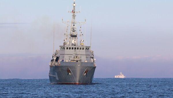 Новейший корабль противоминной обороны Иван Антонов - Sputnik Абхазия