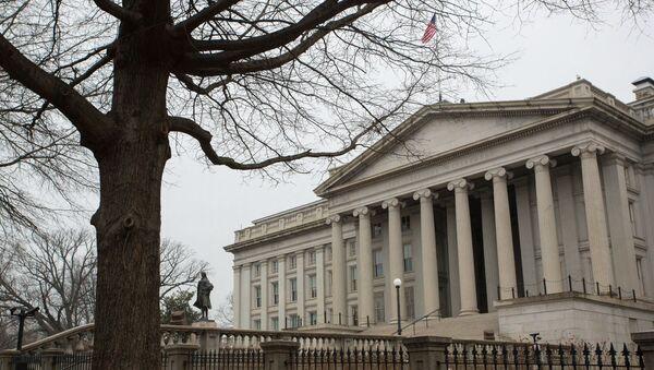 Министерство финансов в Вашингтоне - Sputnik Абхазия