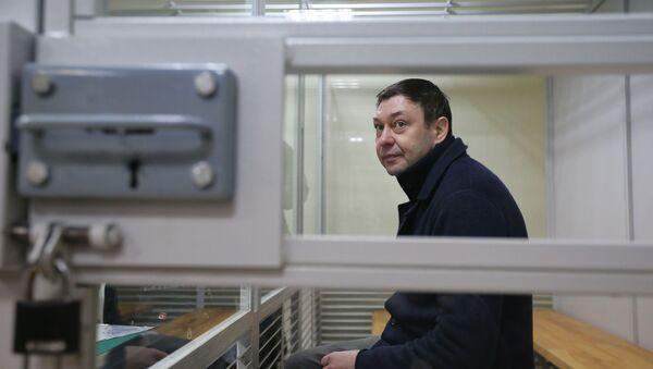 Рассмотрение апелляции на продление ареста журналиста К. Вышинского - Sputnik Аҧсны