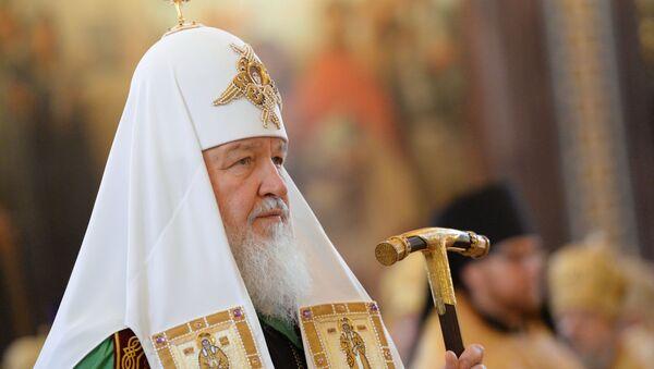 Богослужение по случаю 6-й годовщины интронизации патриарха Московского и всея Руси Кирилла - Sputnik Абхазия