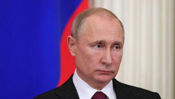 Встреча президента РФ В. Путина с президентом Турции Р. Т. Эрдоганом - Sputnik Абхазия