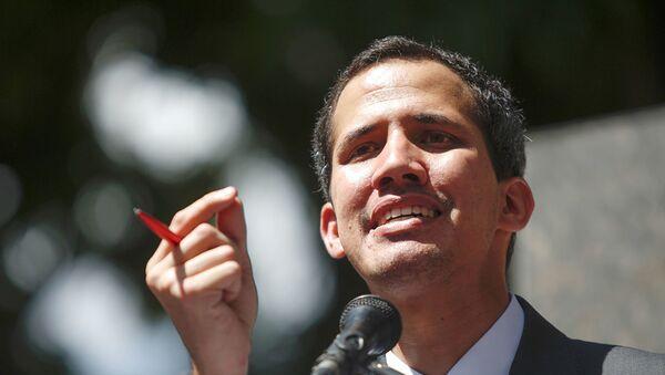 Спикер парламента Венесуэлы, провозгласивший себя президентом, Хуан Гуаидо - Sputnik Аҧсны