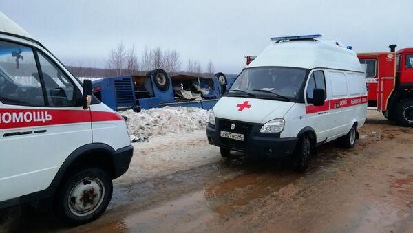 Авария с автобусом в Калужской области - Sputnik Абхазия