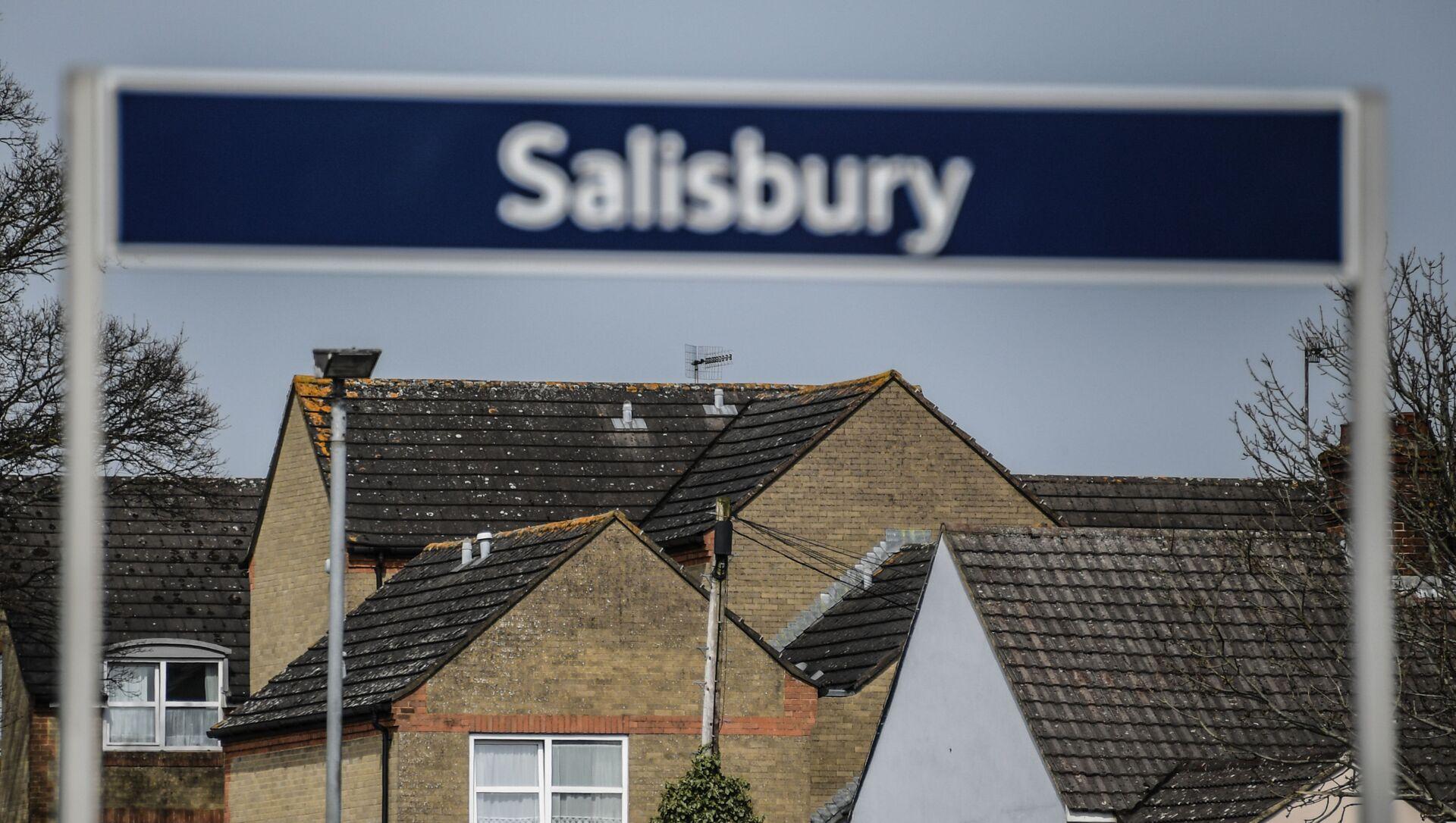 Город Солсбери в Великобритании, где были отравлены С. Скрипаль и его дочь - Sputnik Абхазия, 1920, 23.09.2021