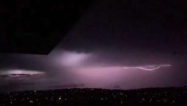 Мощный шторм оставил Сидней без света - Sputnik Абхазия