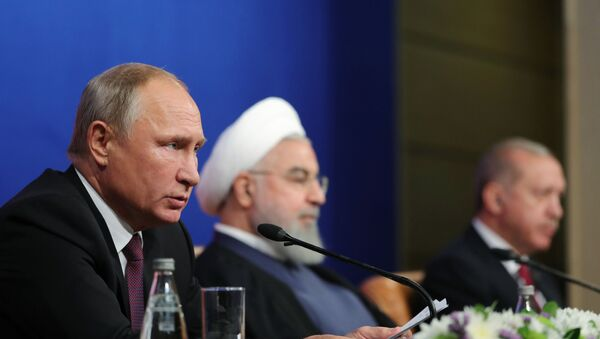 Рабочий визит президента РФ В. Путина в Иран - Sputnik Абхазия