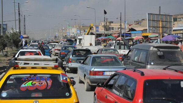 Автомобильное движение в центре Кабула - Sputnik Абхазия