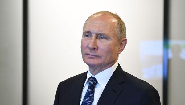 Урыстәыла ахада Владимир Путин - Sputnik Аҧсны