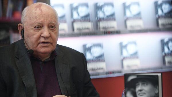 Экс-президент СССР Михаил Горбачев - Sputnik Абхазия