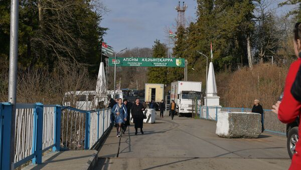 Грузино-абхазская граница - Sputnik Абхазия