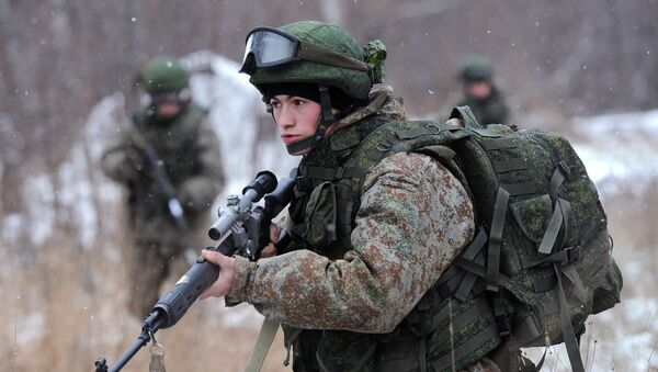 Новая боевая экипировка для военнослужащих сухопутных войск - Sputnik Абхазия