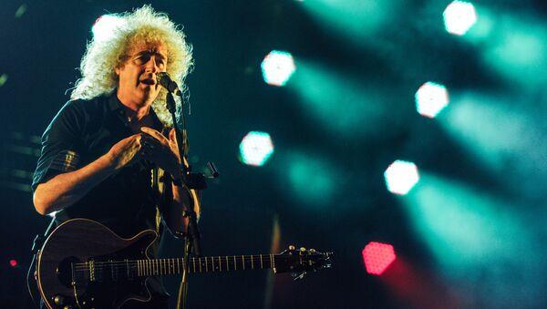 Совместный концерт участников группы Queen и Адама Ламберта - Sputnik Аҧсны
